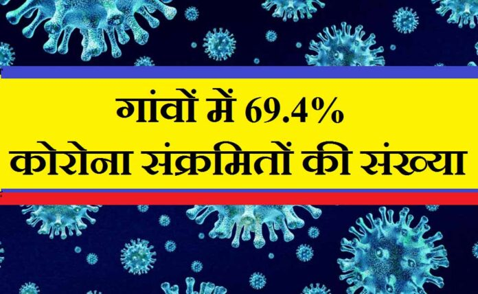 69 4 people infected with coronovirus in rural indian villages national sero survey