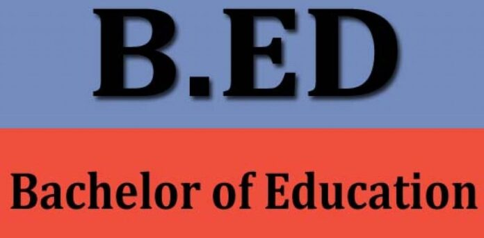 BED bachelor of education