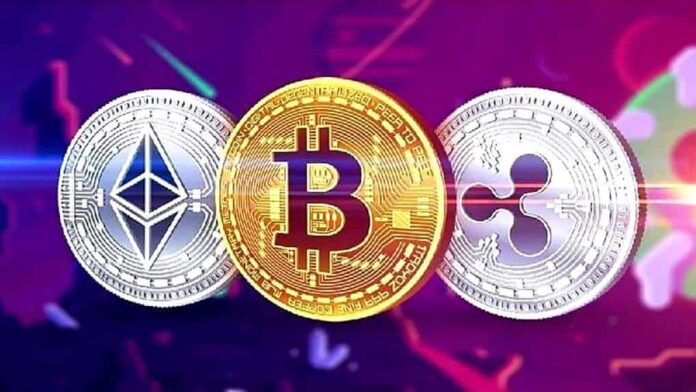 Cryptocurriency, crypto, digital currency